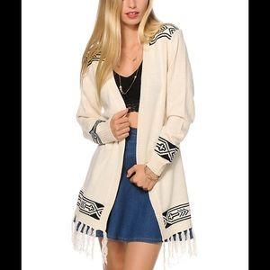 Lira Dure cream & cream cardigan